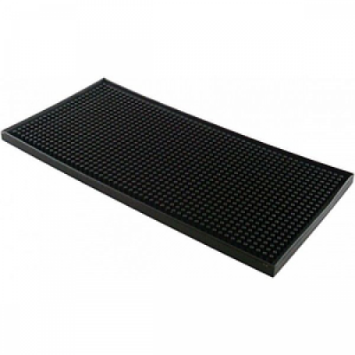 Mini Tapis bar Mat noir