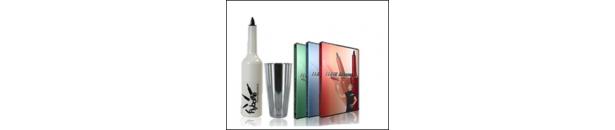 bouteilles shakers tout le matériel pour jongler au bar